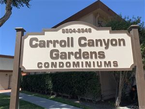 Photo of 9516 Carroll Canyon Rd #214, San Diego, CA 92126 (MLS # 190055203)