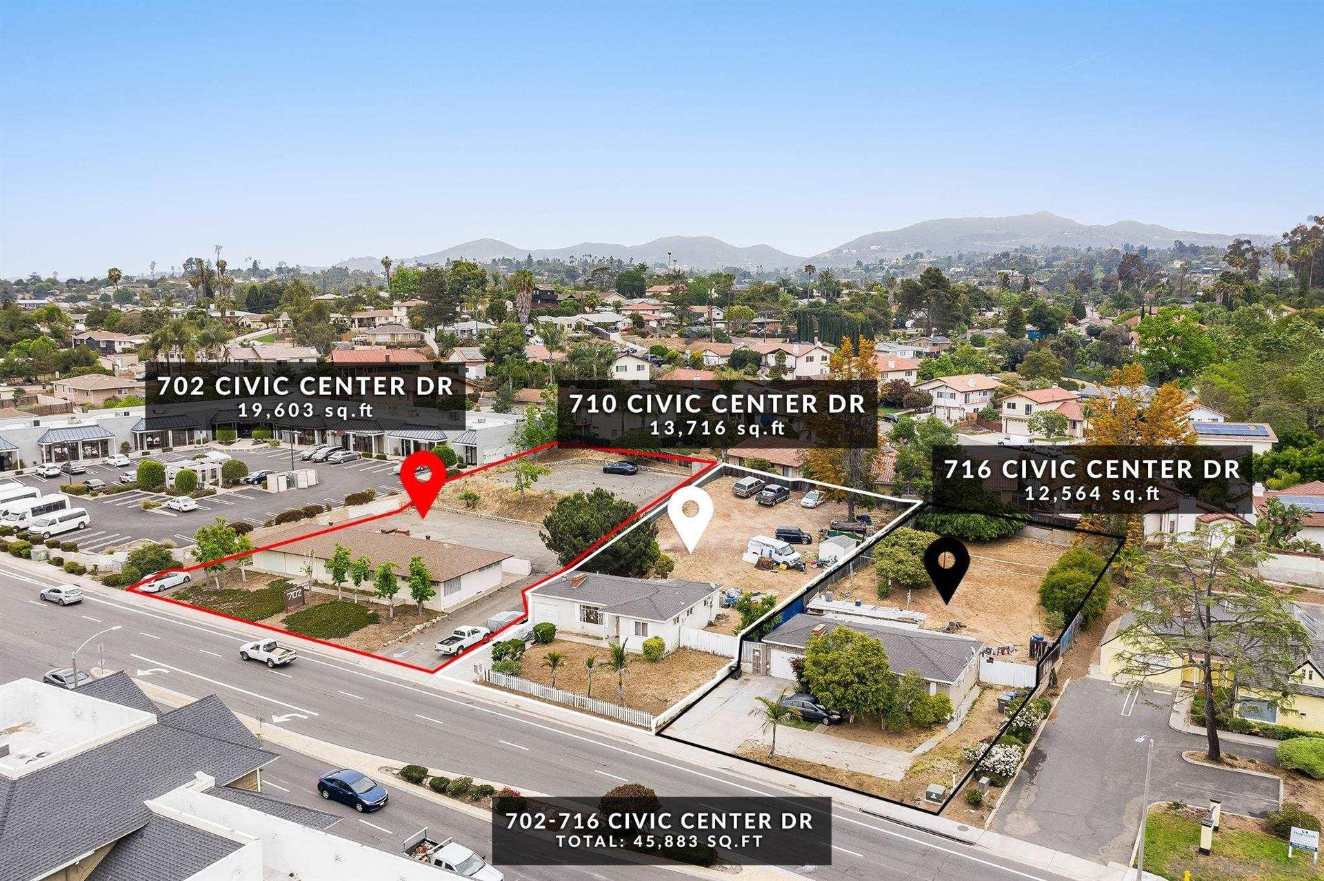 Photo of 702 Civic Center, Vista, CA 92084 (MLS # 210017233)