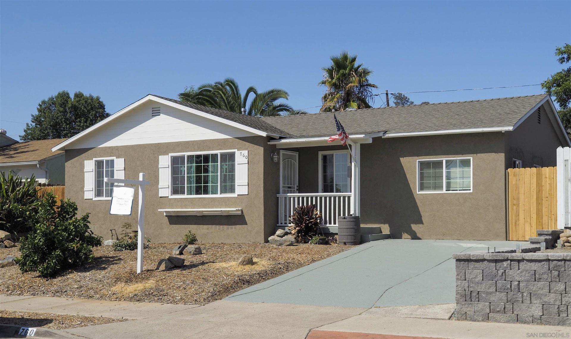 Photo of 760 El Monte Rd, El Cajon, CA 92020 (MLS # 210025234)
