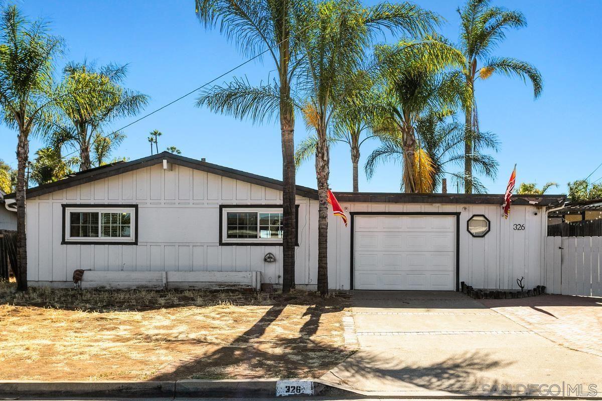 Photo of 326 Yacon St, Vista, CA 92083 (MLS # 210016253)
