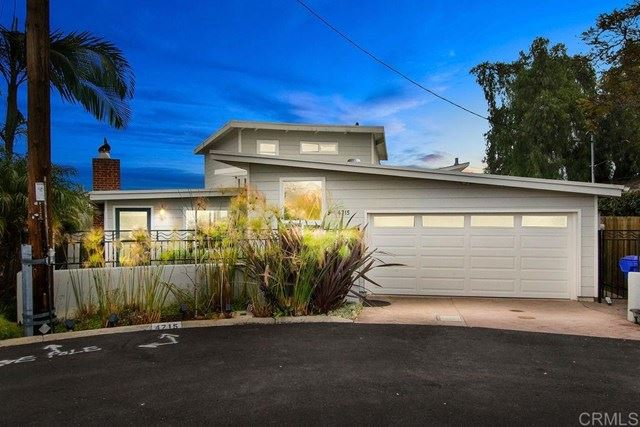 Photo for 4715 North Court, San Diego, CA 92116 (MLS # NDP2101257)