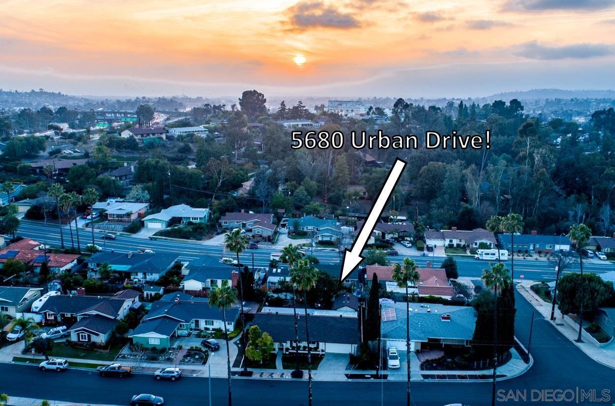 Photo of 5680 Urban Drive, La Mesa, CA 91942 (MLS # 210004264)