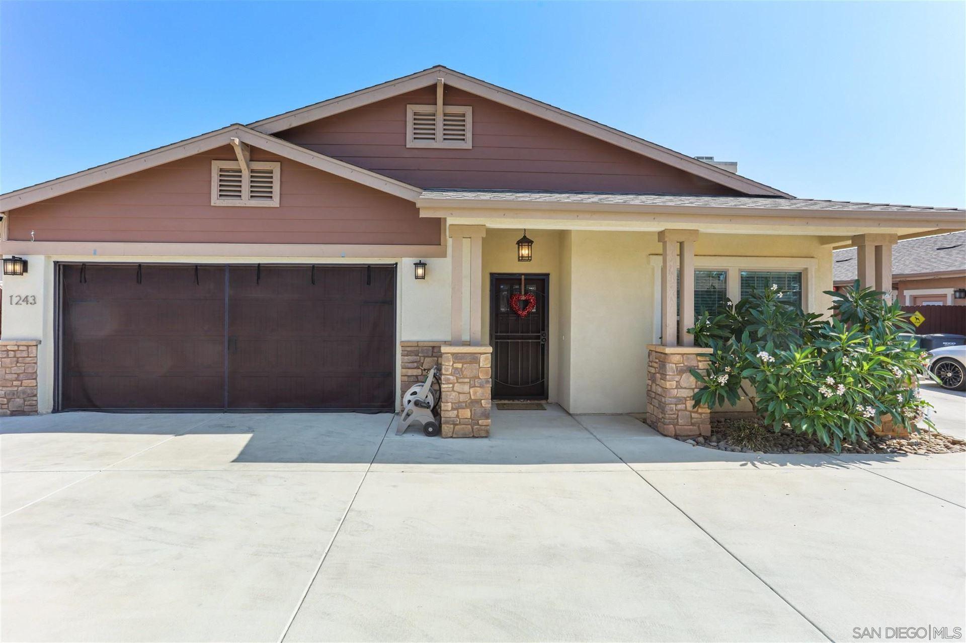 Photo of 1243 Peach Avenue, El Cajon, CA 92021 (MLS # 210021264)