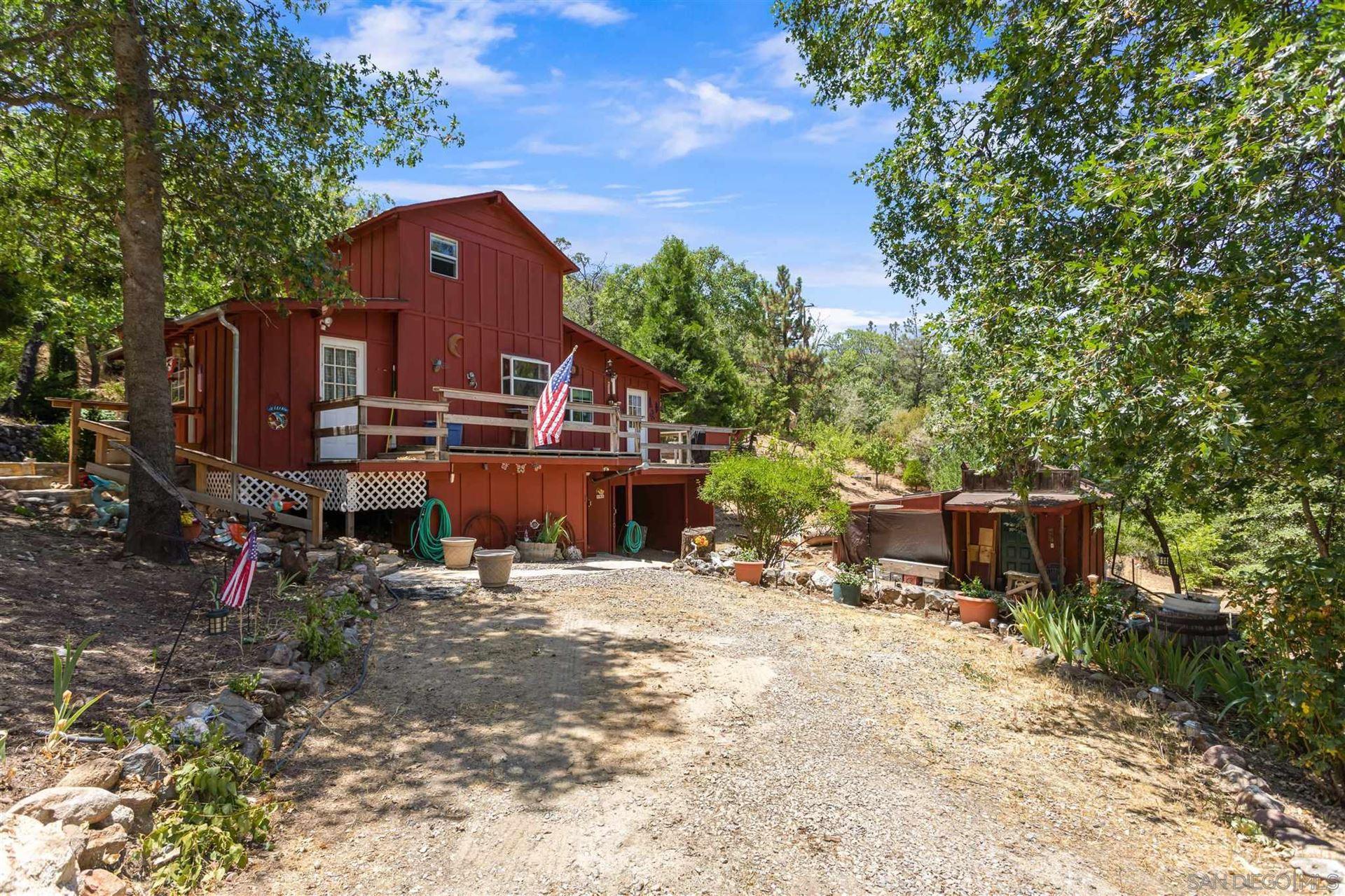 Photo of 1216 Banner View Drive, Julian, CA 92036 (MLS # 210021358)