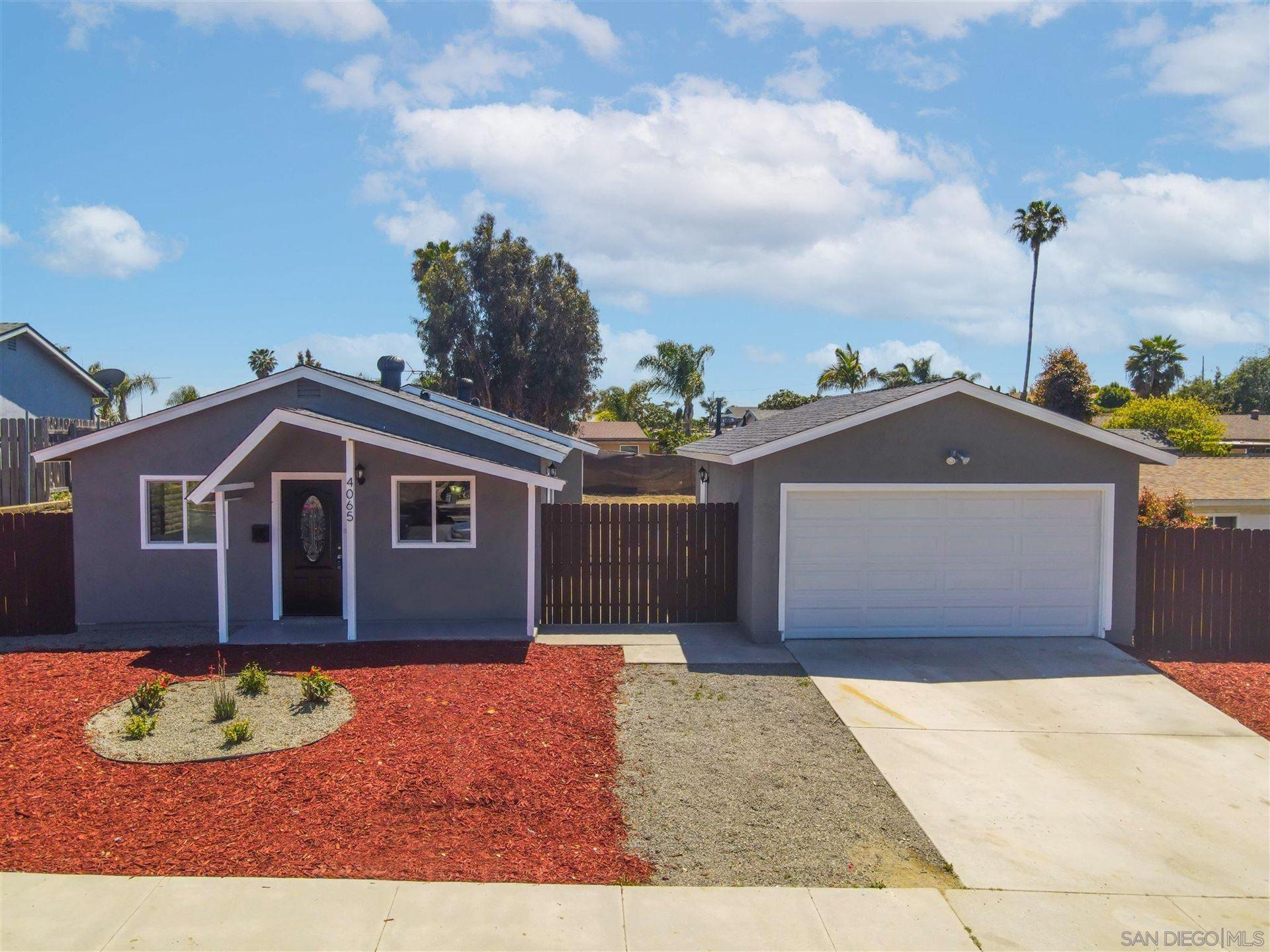 Photo for 4065 Marvin St, Oceanside, CA 92056 (MLS # 210011362)