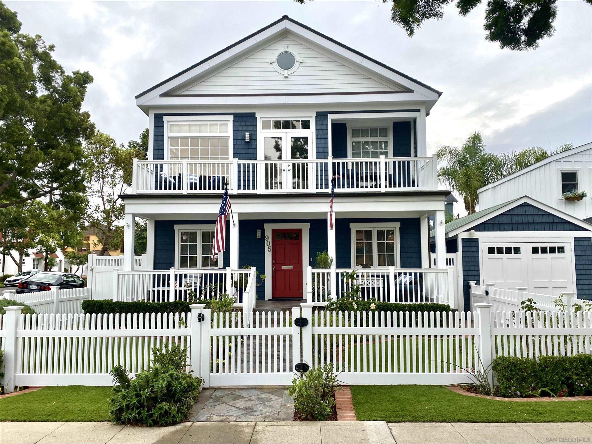 Photo of 905 J Ave, Coronado, CA 92118 (MLS # 210028401)