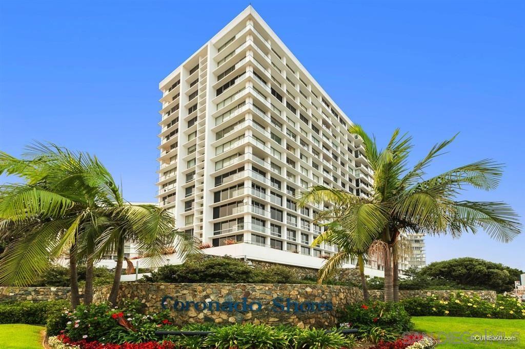 Photo of 1770 Avenida Del Mundo #602, Coronado, CA 92118 (MLS # 200044409)