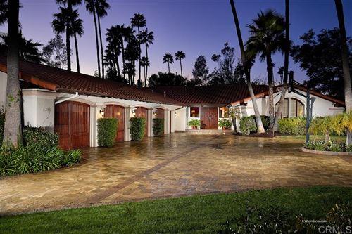 Photo of 6355 Calle Del Campanario, Rancho Santa Fe, CA 92067 (MLS # 200011412)