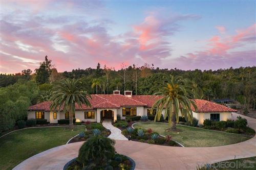 Photo of 18072 Rancho La Cima Corte, Rancho Santa Fe, CA 92067 (MLS # 200051446)