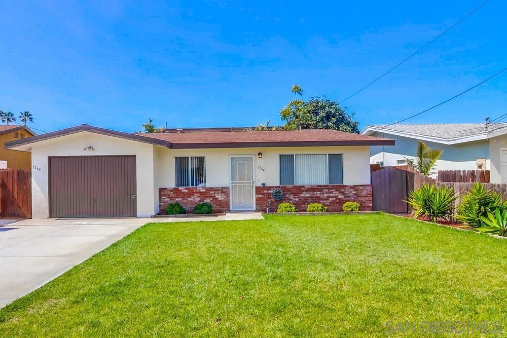 Photo of 1266-1268 12th St, Imperial Beach, CA 91932 (MLS # 210007454)