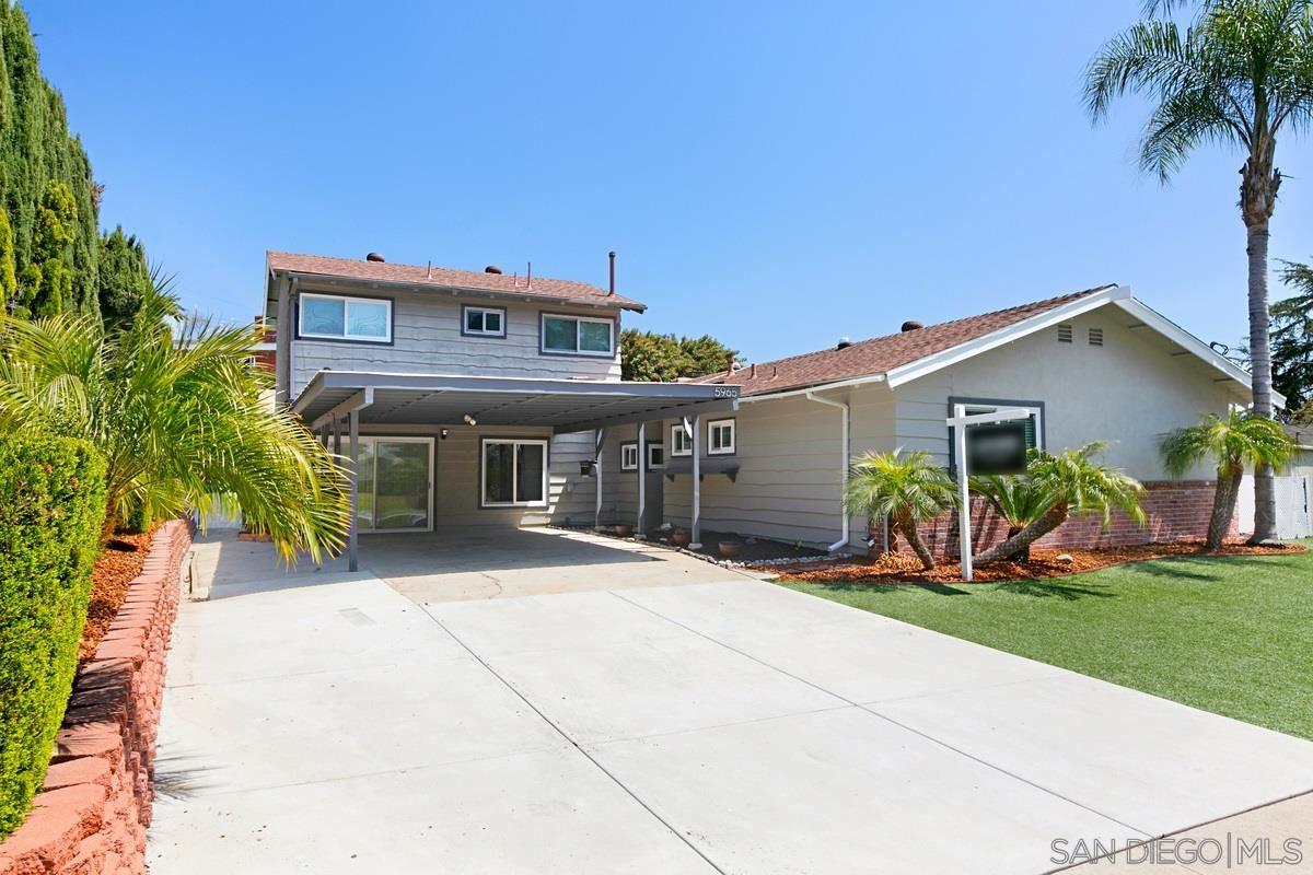 Photo of 5965 Bob St, La Mesa, CA 91942 (MLS # 210009467)