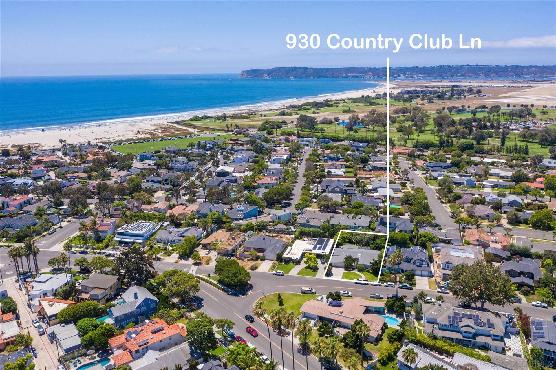 Photo of 930 Country Club Lane, Coronado, CA 92118 (MLS # 210021473)