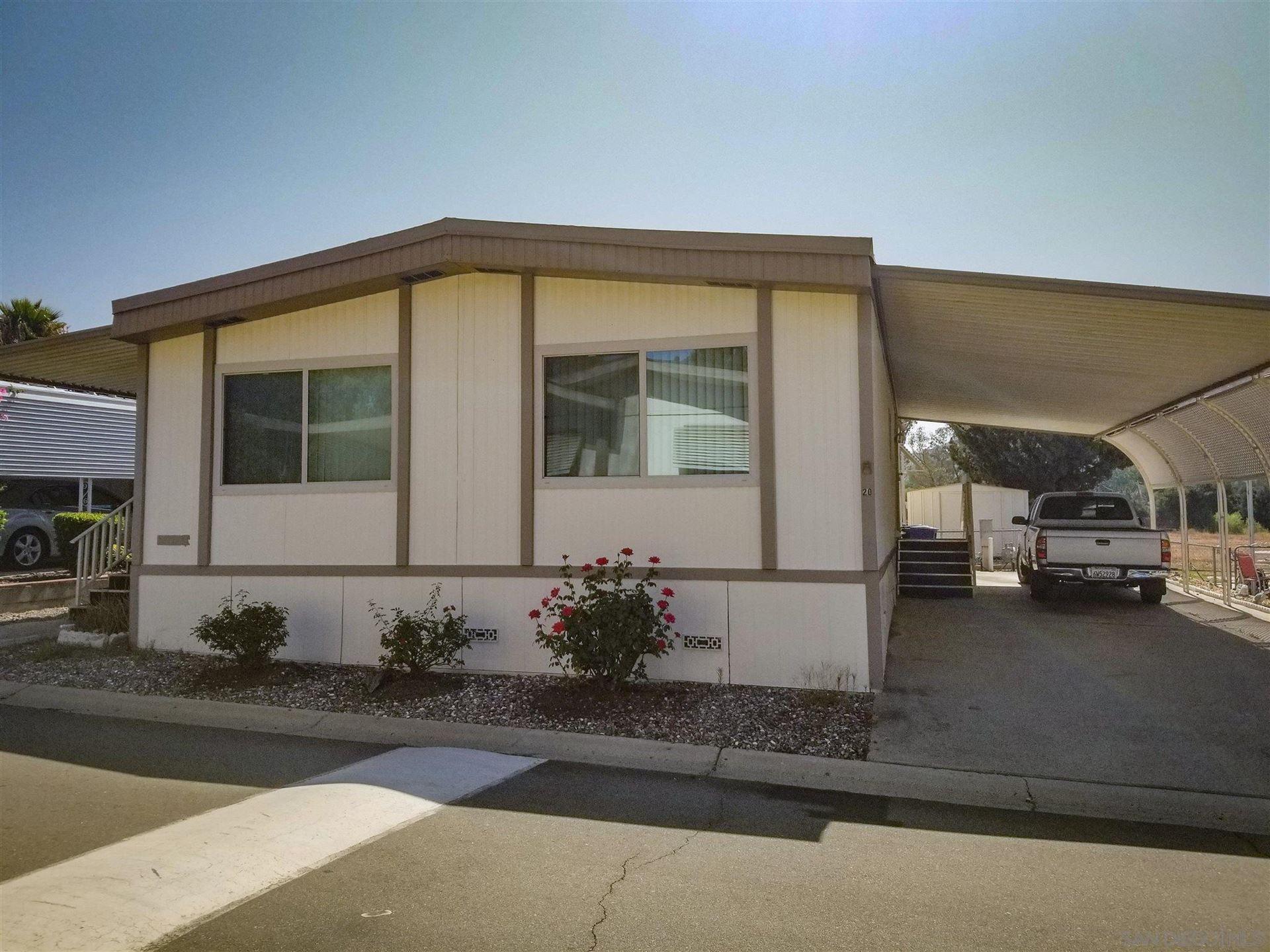 Photo of 15420 Olde Hwy 80 #SPC 20, El Cajon, CA 92021 (MLS # 210021510)