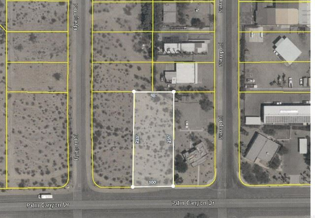 Photo of Palm Canyon Drive, Borrego Springs, CA 92004 (MLS # NDP2109550)