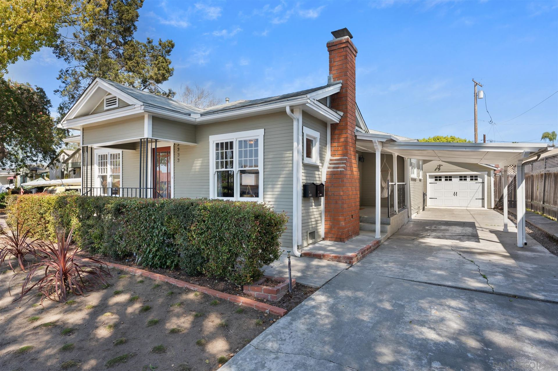 Photo for 3333 N Mountain View Drive, San Diego, CA 92116 (MLS # 210008564)