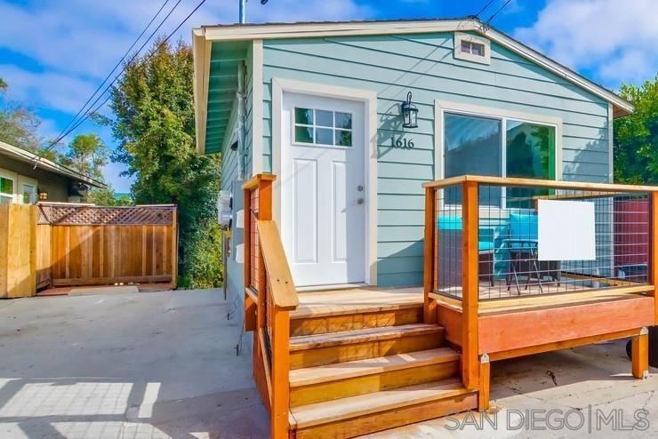 Photo of 1616 & 1618 Herbert Pl, San Diego, CA 92103 (MLS # 210008567)
