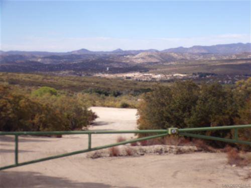 Photo of 0 Encina Verde, Boulevard, CA 91905 (MLS # 200032569)