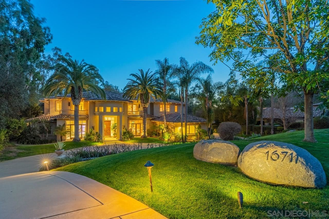 Photo of 16711 Avenida Arroyo Pasajero, Rancho Santa Fe, CA 92067 (MLS # 210023574)