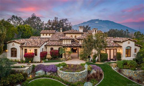 Photo of 18363 Calle La Serra, Rancho Santa Fe, CA 92091 (MLS # 210000605)