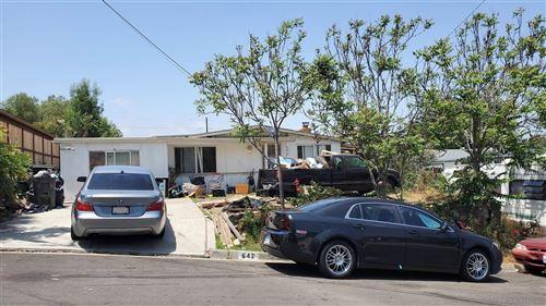 Photo of 642 San Miguel St, Spring Valley, CA 91977 (MLS # 210012612)