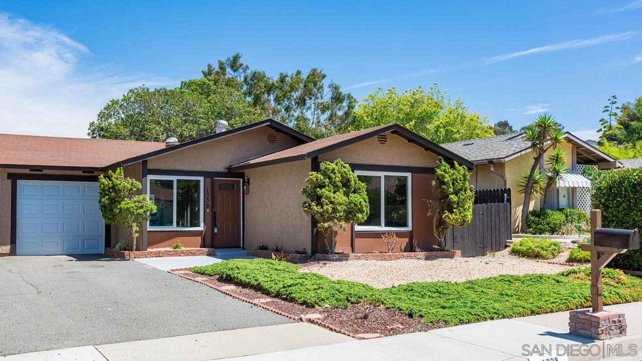 Photo of 1338 Panorama Ridge Rd, Oceanside, CA 92056 (MLS # 210021620)
