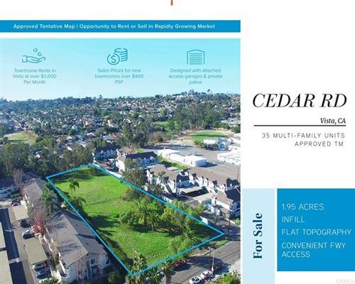 Photo of 206 Cedar Rd., Vista, CA 92083 (MLS # NDP2110636)