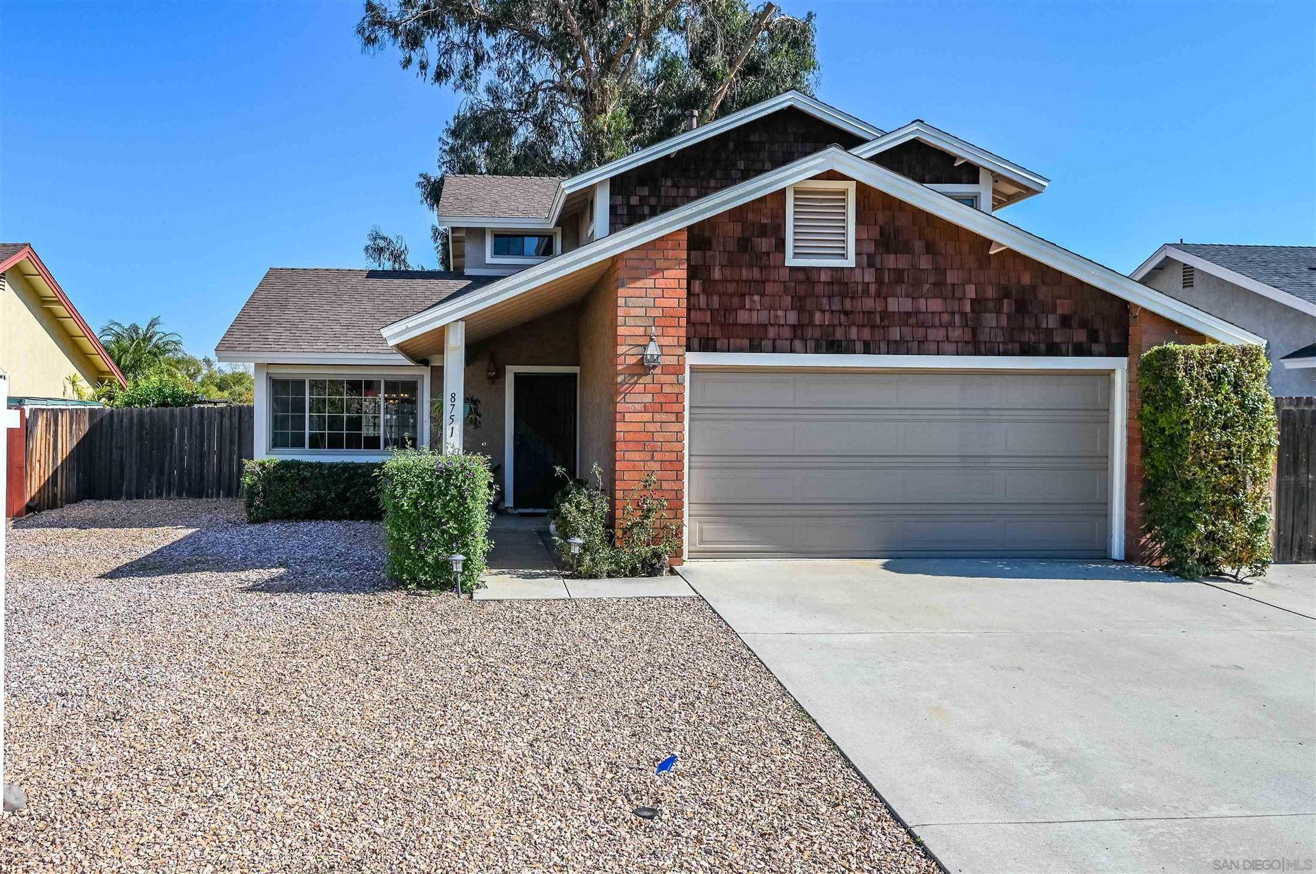 Photo of 8751 Granite House Ln, Santee, CA 92071 (MLS # 210029640)
