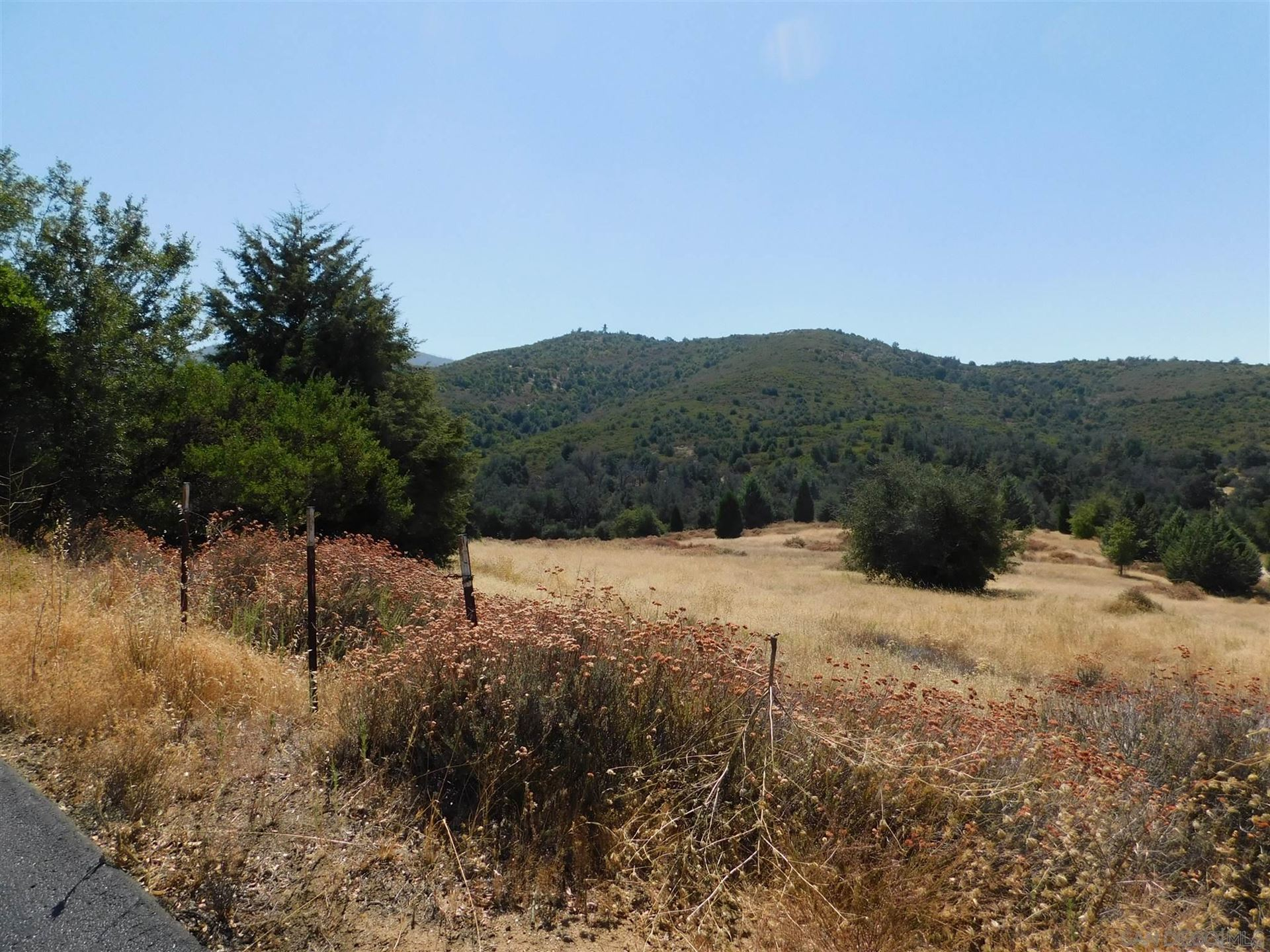 Photo of 15.49 ac Engineers Road, Julian, CA 92036 (MLS # 200046646)