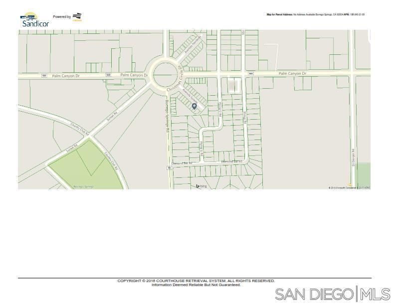 Photo of 36-37 Avenida Sureste, Borrego Springs, CA 92004 (MLS # 210005648)