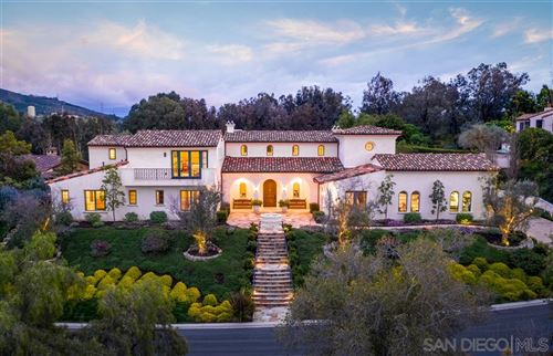 Photo of 18411 Calle La Serra, Rancho Santa Fe, CA 92091 (MLS # 200036662)