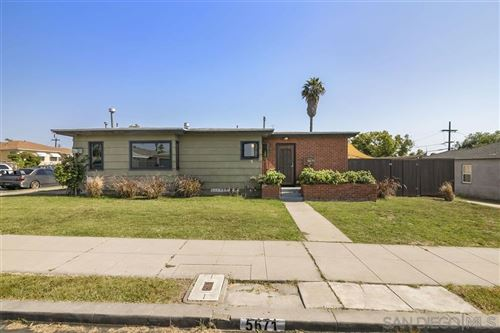 Photo of 5671 Churchward St, San Diego, CA 92114 (MLS # 200025667)