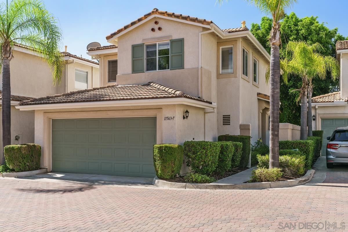 Photo of 11563 Compass Point Dr N #7, San Diego, CA 92126 (MLS # 210021675)