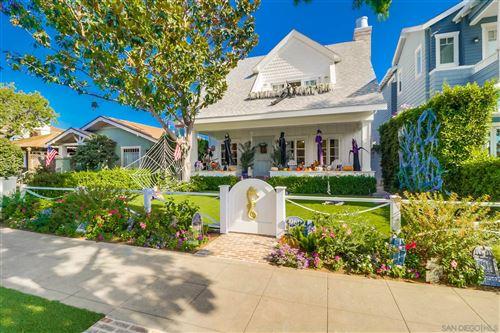 Photo of 961 G Avenue, Coronado, CA 92118 (MLS # 200049681)