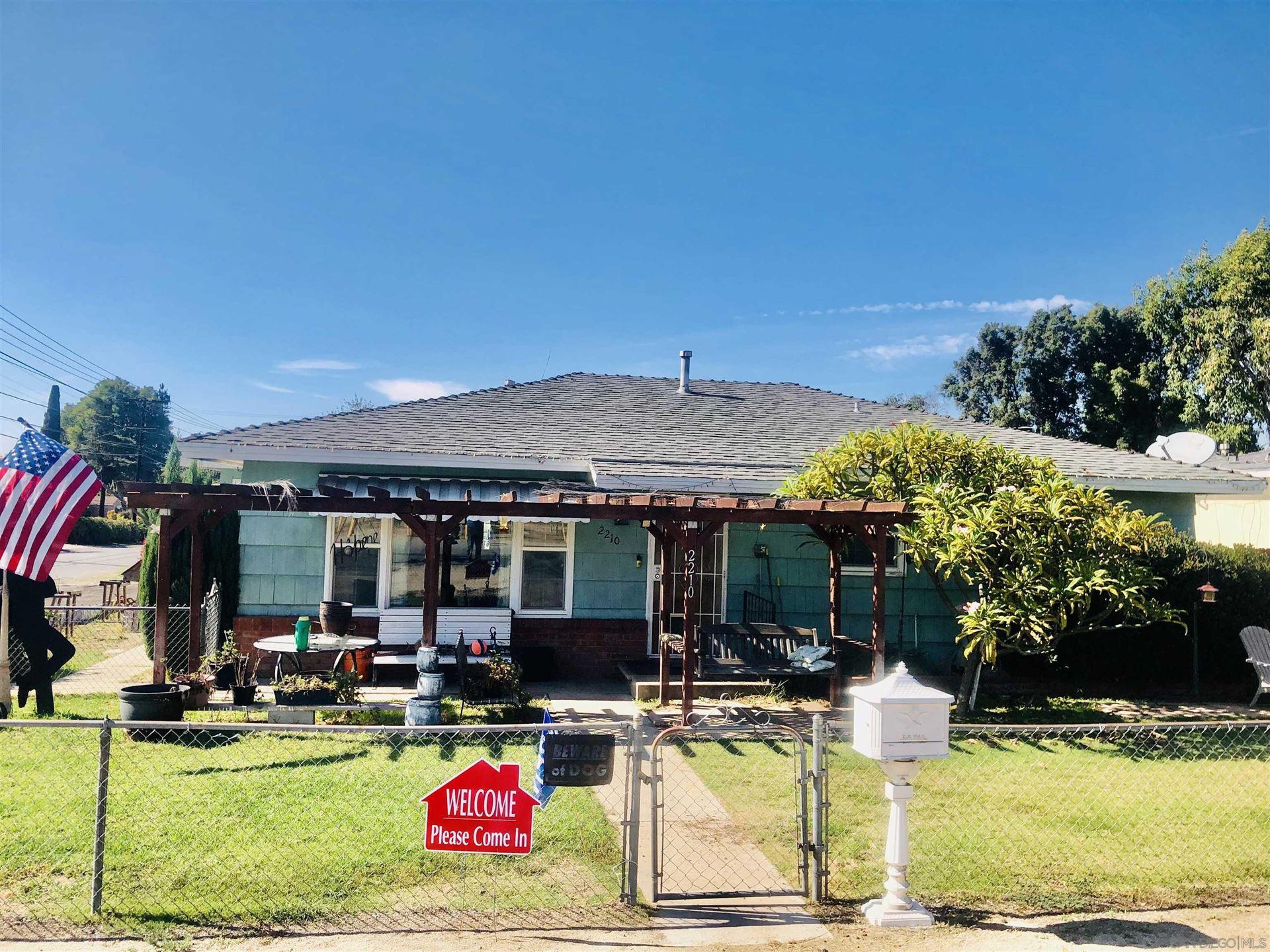 Photo of 2210 Washington Street, Lemon Grove, CA 91945 (MLS # 210028686)
