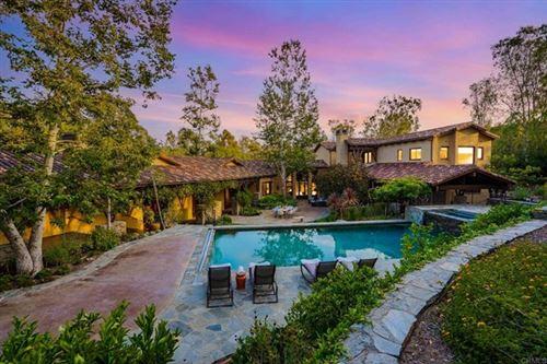 Photo of 4848 El Nido, Rancho Santa Fe, CA 92067 (MLS # NDP2108720)