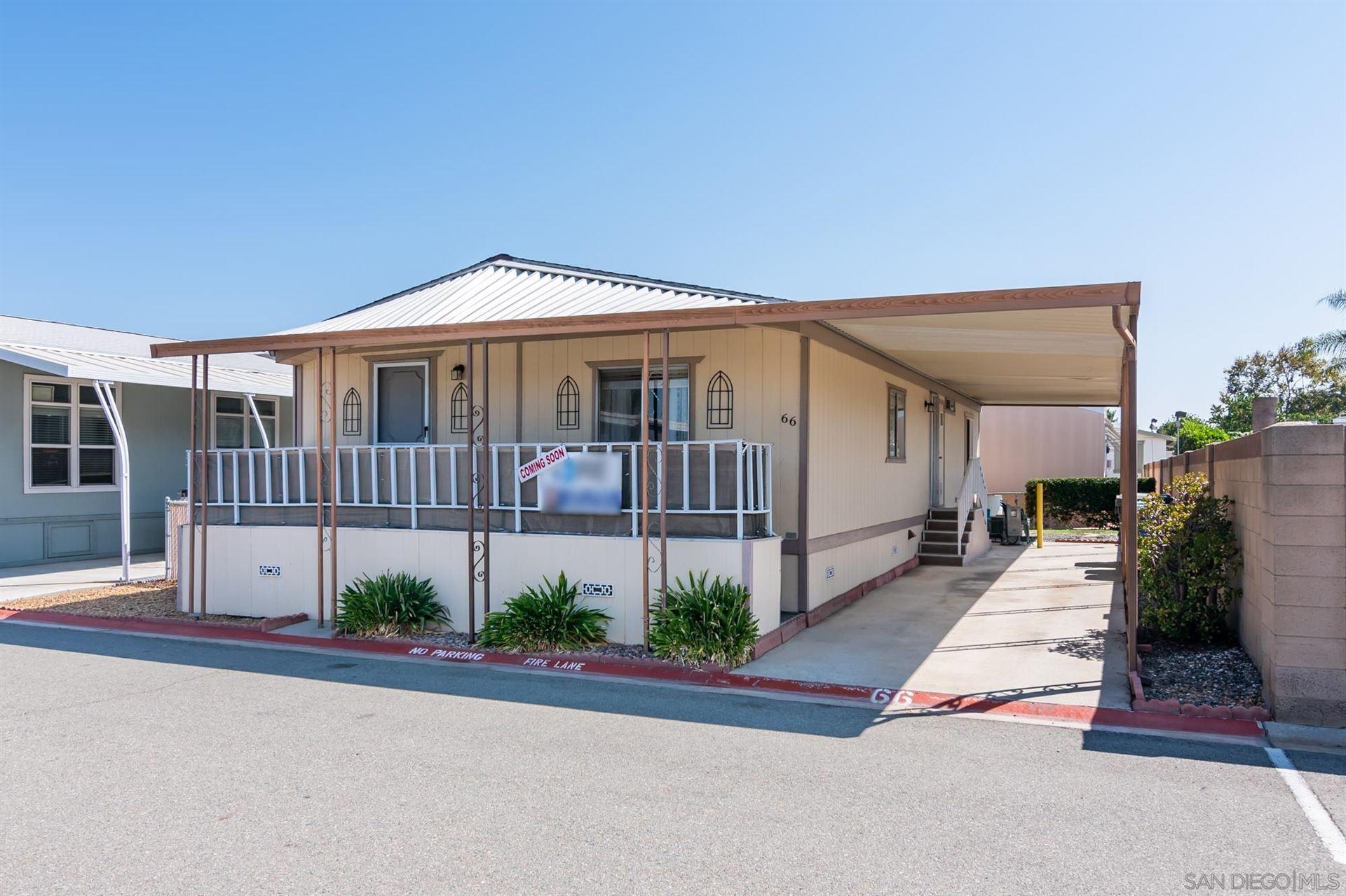 Photo of 4616 N River Road #66, Oceanside, CA 92056 (MLS # 210025734)