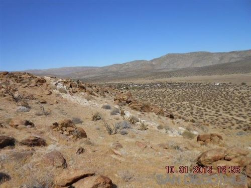 Photo of 60 acres Great Southern Overland, Julian, CA 92036 (MLS # 200019753)