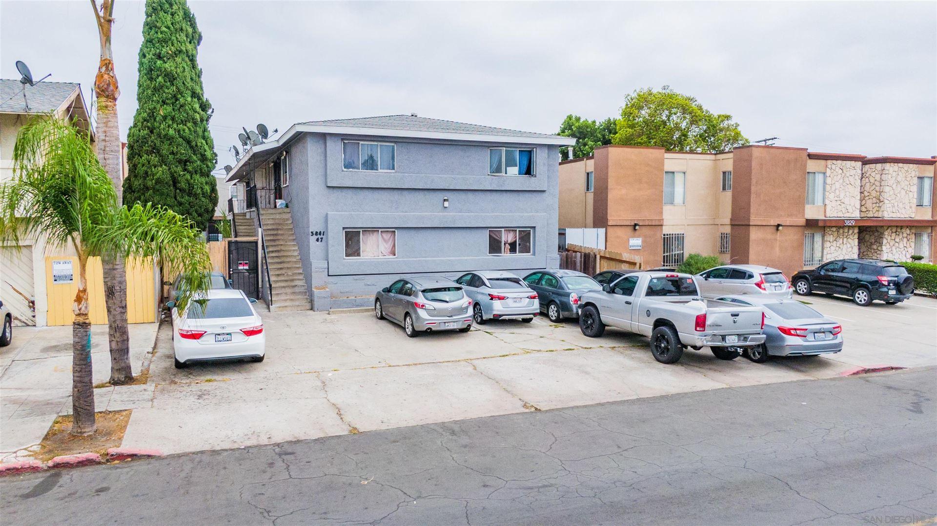 Photo of 3841-47 Marlborough Avenue, San Diego, CA 92105 (MLS # 210025756)