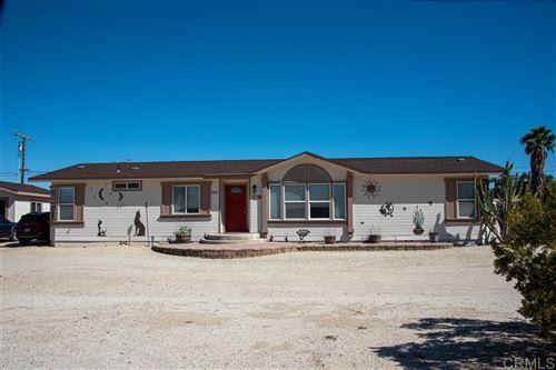 Photo of 3166 Broken Arrow Road, Borrego Springs, CA 92004 (MLS # 200018762)