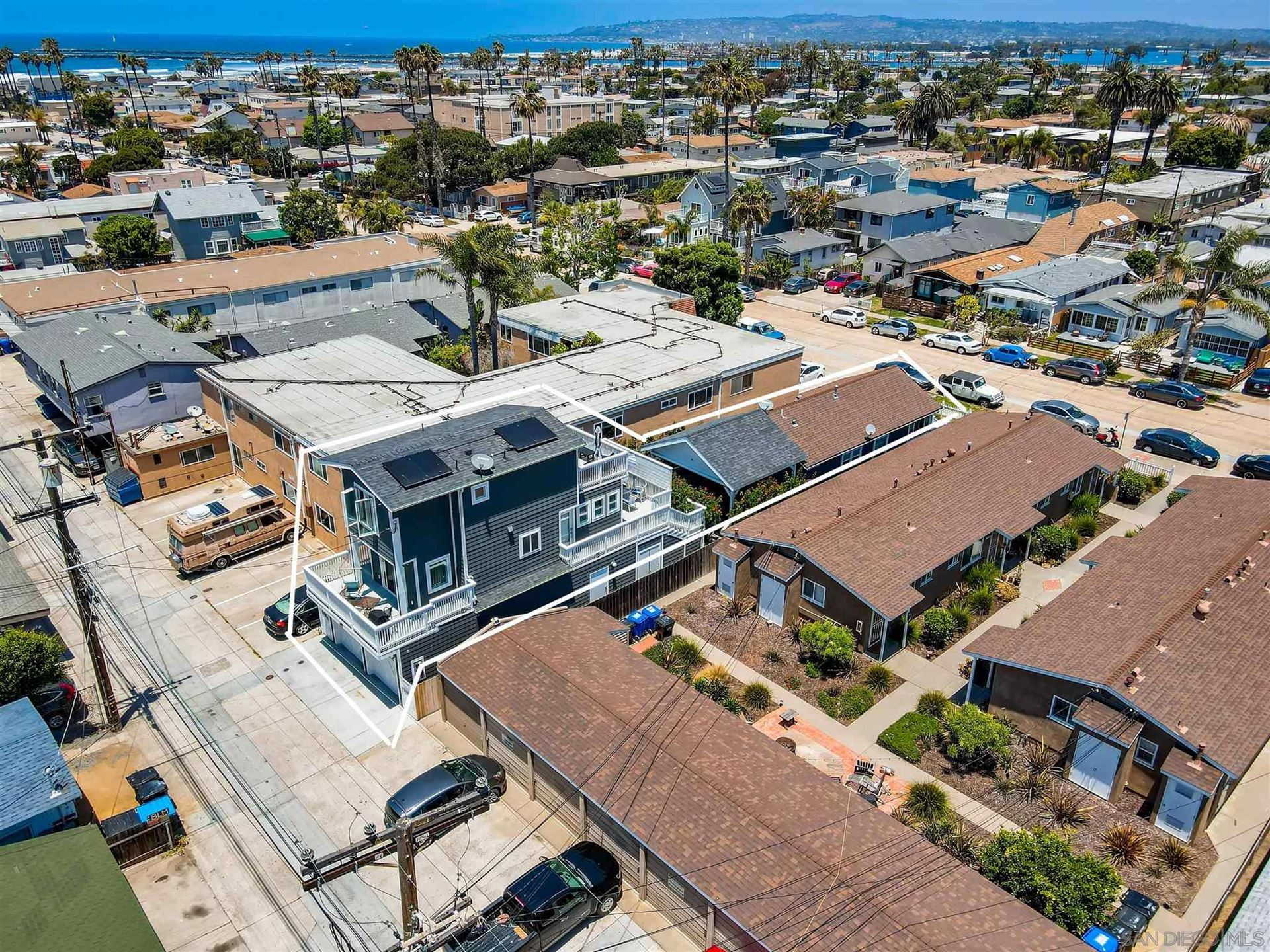 Photo of 4925-27 Saratoga Avenue, San Diego, CA 92107 (MLS # 210015787)