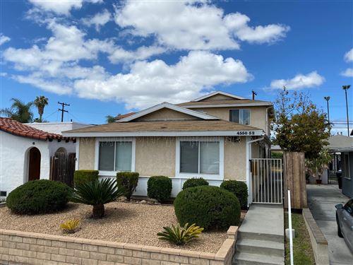 Photo of 4550-52 36th Street, San Diego, CA 92116 (MLS # 210011807)