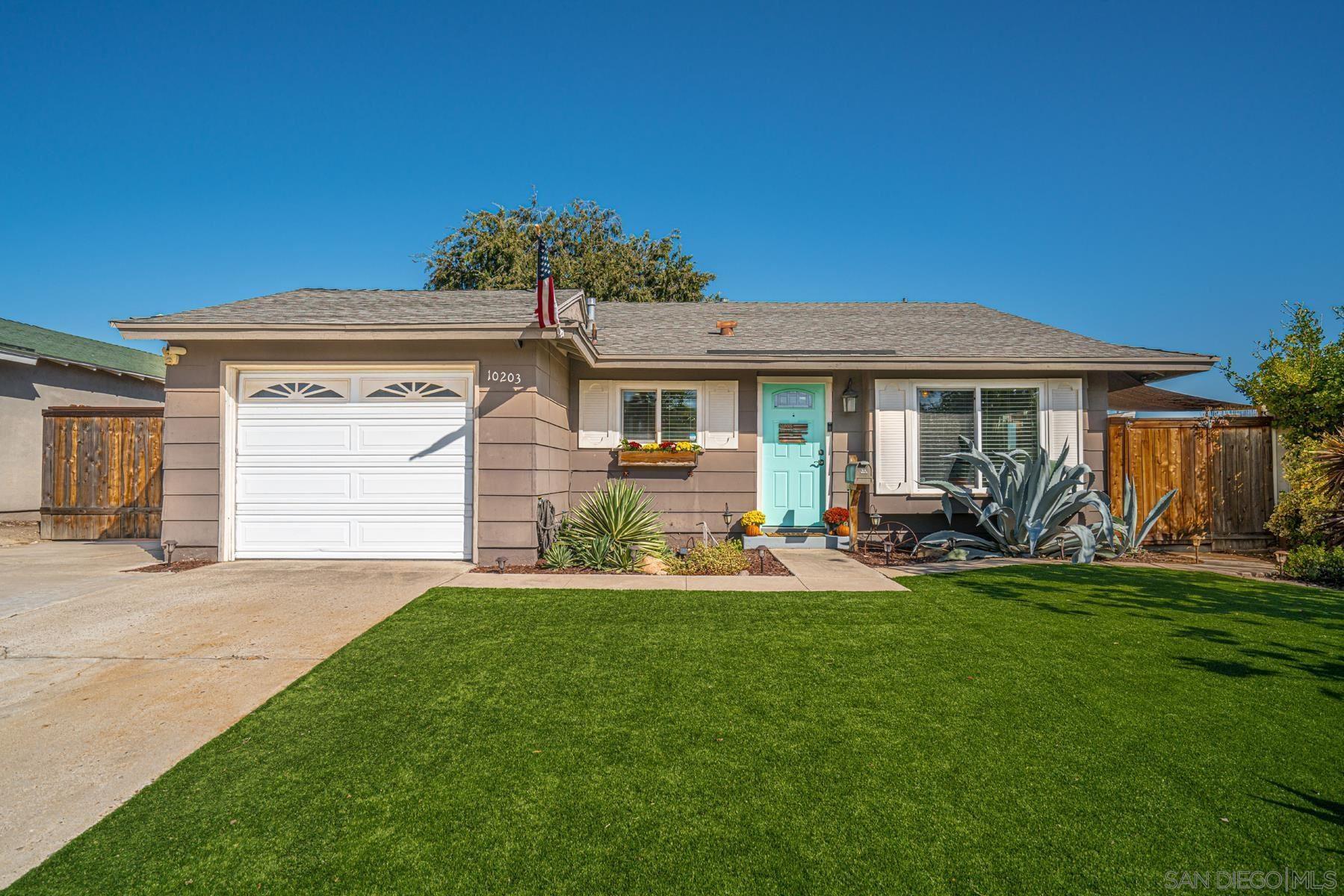 Photo of 10203 Woodrose Avenue, Santee, CA 92071 (MLS # 210028814)