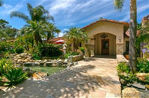 Photo of 18351 Via de Las Flores, Rancho Santa Fe, CA 92067 (MLS # 190045824)