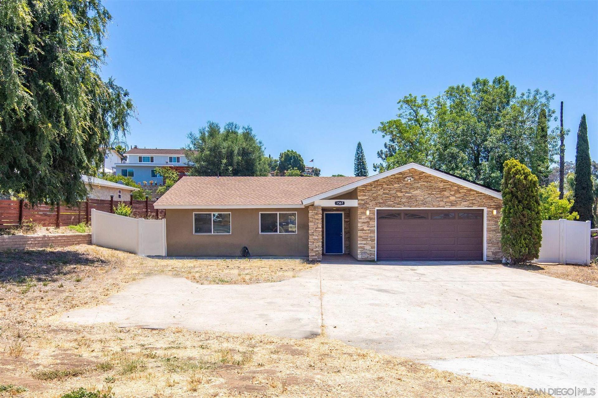 Photo of 1567 Greenfield Drive, El Cajon, CA 92021 (MLS # 210015856)