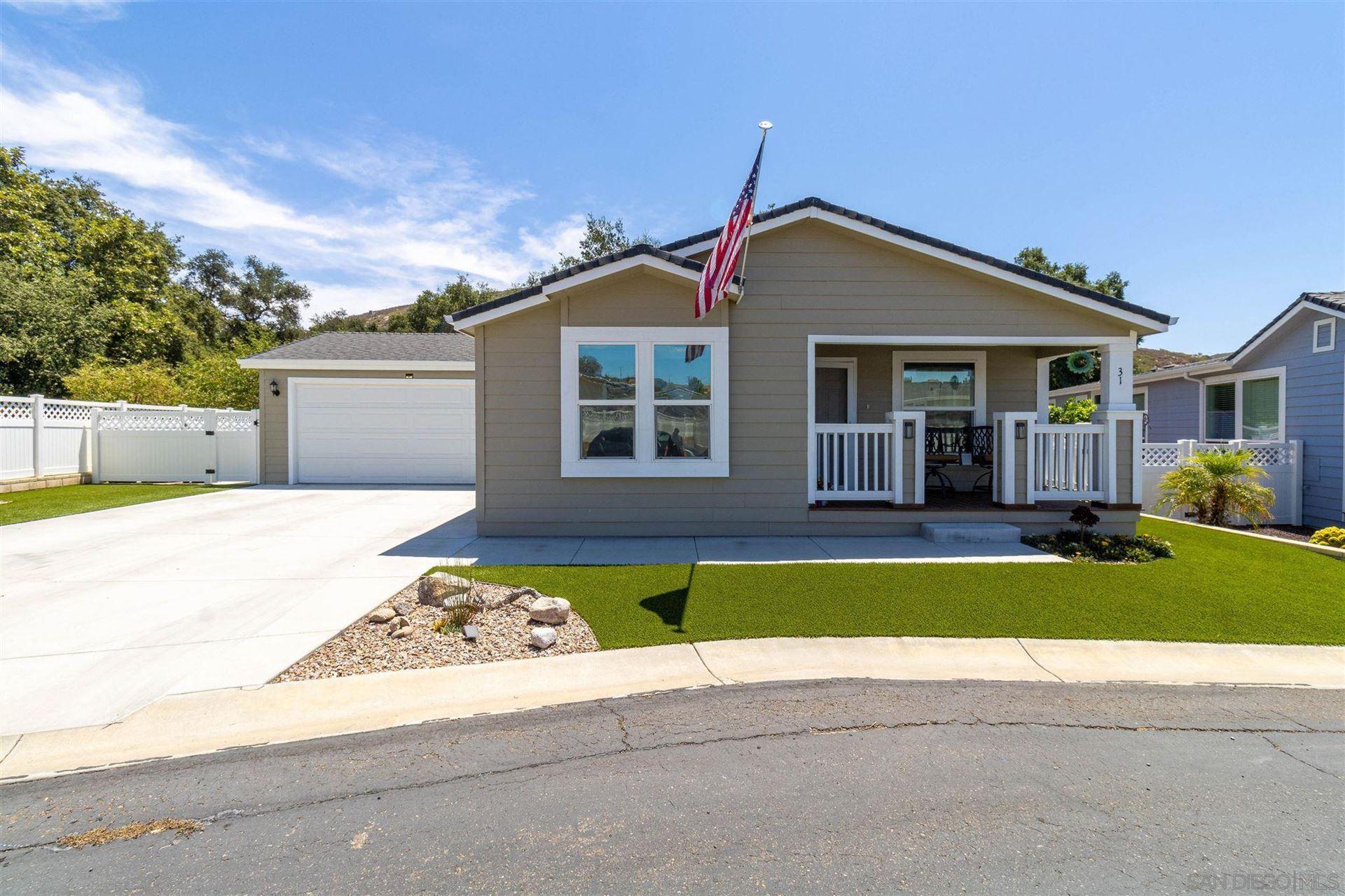 Photo of 2239 Black Canyon Rd #SPC 31, Ramona, CA 92065 (MLS # 210020860)