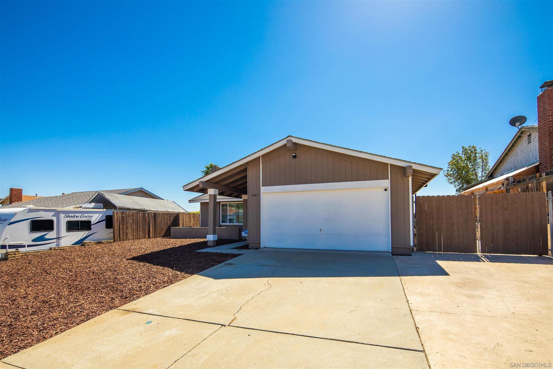 Photo of 9947 Shoredale Dr, Santee, CA 92071 (MLS # 210028863)