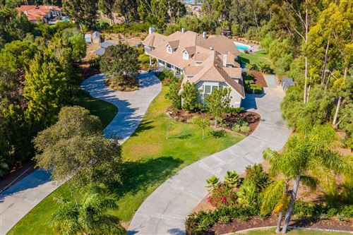 Photo of 7012 Rancho La Cima Drive, Rancho Santa Fe, CA 92067 (MLS # 210010914)