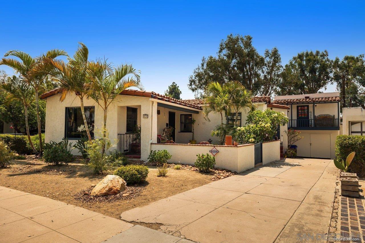Photo for 4526 W Talmadge Dr, San Diego, CA 92116 (MLS # 210020918)