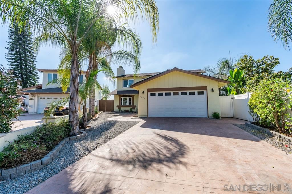 Photo for 7476 Comet View Ct, San Diego, CA 92120 (MLS # 190055948)