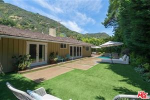 Photo of 3286 MANDEVILLE CANYON Road, Los Angeles, CA 90049 (MLS # 301539993)